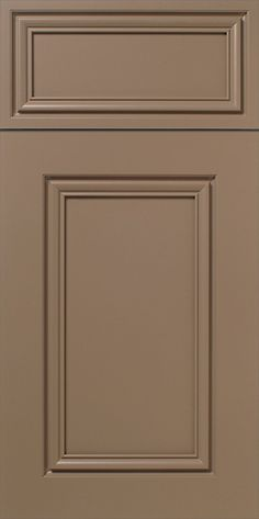 Superieur S832 Esteem   Painted Beige Cabinet Door And Drawer Front With Mitered  Construction | WalzCraft Cabinet