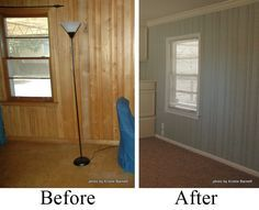 Anybody needing to update some wood paneling? Well I atleast know of one that will benefit from this postu2026. Currently their basement is all wood paneling u2013 ... & How to Paint Wood Paneling DIY Instructions | Pinterest | Painting ...