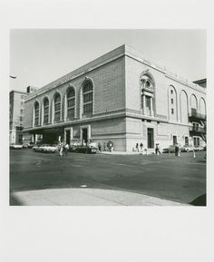 Brooklyn Academy of Music. Fort Greene, Brooklyn. May 30, 1978. (1978)
