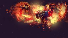 xin ember spirit dota 2 hd wallpaper flaming sword leauge