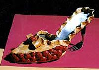 """""""Cherry Pie Mule"""", Polymer Clay, Acrylic, Metal, & Rubber by Robert Tabor"""