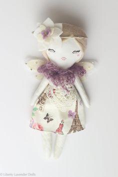 "Mini Fairy Heirloom Doll. 7"" ish tall."