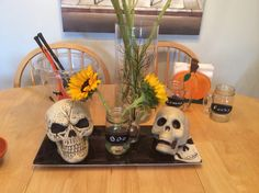 Halloween table deco!