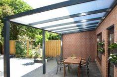 category Aluxe Trendline veranda met platen 4000x3000 330267-10
