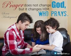 Family prayer: Putting it into action