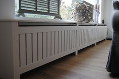 Billedresultat for moderne radiator ombouw Room Inspiration, Interior Inspiration, Modern Radiator Cover, Diy Interior, Interior Design, Villa, Creative Home, Family Room, Sweet Home