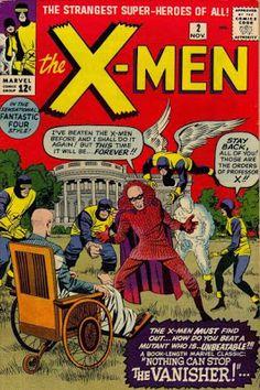 X-Men #2. The Vanisher.