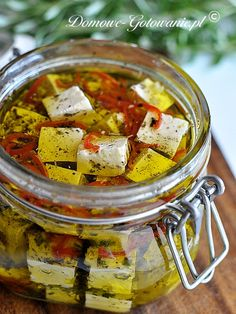 marinated feta for salads!