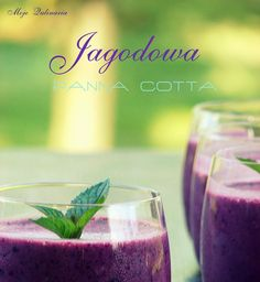 Jagodowa panna cotta, fot. Paulina Jóźwiakmojequlinaria.blogspot.comdla ELLE.pl