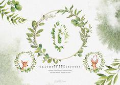 WOODLAND collection - forest wedding by DigitalDream on @creativemarket