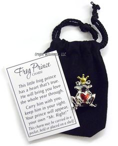 Lucky Love Pewter Frog Prince Charm.