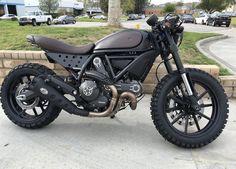 Ducati Scrambler Forum - View Single Post - Mad Max FT with Ducati Scrambler Custom, Ducati Cafe Racer, Ducati Motorcycles, Cafe Racer Bikes, Cafe Racer Motorcycle, Moto Bike, Custom Motorcycles, Honda Cb750, Yamaha