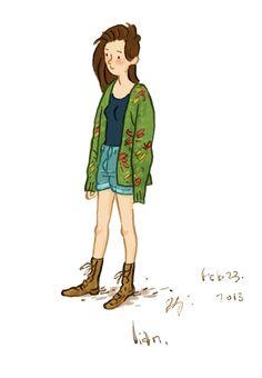 Un boceto rápido de mi hermana Lian en la noche del viernes.  No te olvides de visitar su blog la fotografía de moda!  Toronto Street Fashion