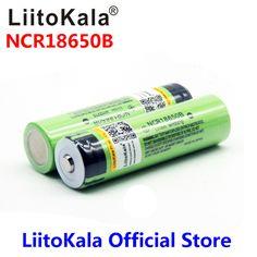 2017 liitokala 18650 3400 Батарея 3400 мАч 3.7 В NCR18650B Перезаряжаемые литий-ионный Батарея для фонарик для Panasonic (NO печатной платы)