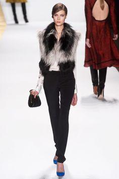 J.Mendel Fall 2013 RTW Collection - #fur #vest