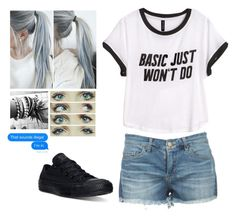 """""""This just won't do"""" by blueelephant115 ❤ liked on Polyvore featuring H&M and Converse"""