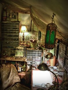 OH MY GOODNESS studio of my dreams. Every corner is inspired. the colors, the accents, even the clutter. this is perfection!