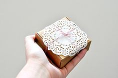 Doily packaging.