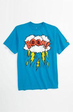 Element 'Boom' T-Shirt (Big Boys) | Nordstrom  (Comic Slogan)