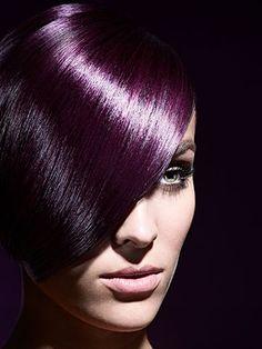 Shiny Purple Hair I really want purple hair