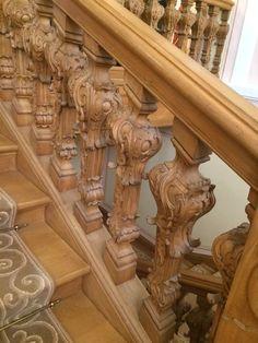 Парадная лестница во дворце Меньшикова в Ораниенбауме, 18-й век! Сохранилась до наших времён!