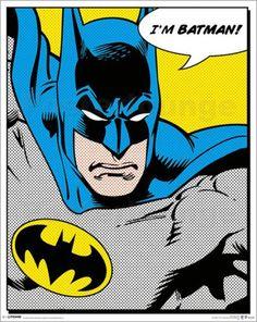 Batman - Quote - Comicposter