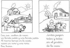 Actividades de comprensión lectora - Primer Ciclo de Primaria
