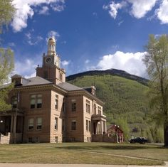Silverton, Colorado — by Kate C. San Juan County Courthouse in Silverton, Colorado. Wish I has taken the time to stop in and get historical...
