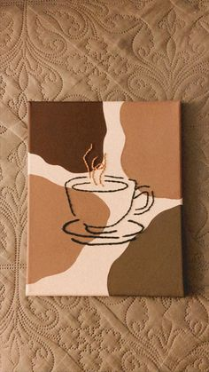 Small Canvas Paintings, Easy Canvas Art, Small Canvas Art, Cute Paintings, Mini Canvas Art, Drawing On Canvas, Beginner Canvas Painting Ideas, Simple Wall Paintings, Canvas Painting Designs