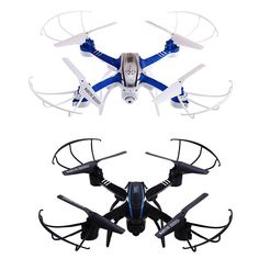 Beginner Level Camera Drones D20W WiFi FPV 2.0MP 2.2.4GHz 4 Channel 6-axis Gyro Quadcopter RC Helicopter Quad Copter