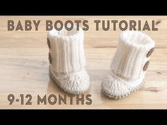 Baby Wrap Boot – Crochet Tutorial - Design Peak
