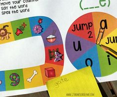 ant to increase your child's knowledge of long vowels? Try these free board games!