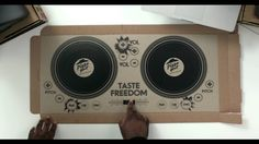 Pizza Hut Restaurants introduces the world's first playable DJ pizza box