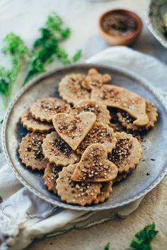 hemp za'atar sorghum crackers gluten free vegan recipe via will frolic for food