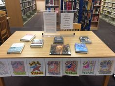 Pendleton Public Library Veterans' Day Display, colored by the Adults & Teens Coloring Club.