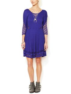 To The Point A-Line Dress by Free People at Gilt