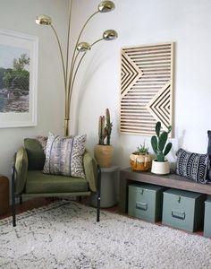 Wood Walls Art Geometric Apartment Therapy Ideas For 2019 Wood Tile Bathroom Floor, Wood Tile Floors, Wood Walls, White Wood Furniture, Wood Pallet Furniture, Diy Furniture, Wooden Wall Art, Diy Wall Art, Wooden Signs