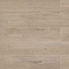 European 8-in x 48-in Wood Look Porcelain Field Tile in European Beech - Walmart.com - Walmart.com Wood Look Tile Floor, Wood Tile Floors, Outdoor Stone, Outdoor Tiles, Floor Texture, Tiles Texture, Porcelain Wood Tile, Wood Vinyl, French Oak