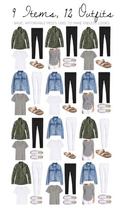 30 Pieces, 30 Looks: Remix in the Remix Capsule Outfits, Fashion Capsule, Capsule Wardrobe, Mom Outfits, Cute Outfits, Fashion Outfits, Preppy Style, Mom Style, Inspiration Mode