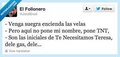Señora Teresa, venga, venga... por @JordiEvoli