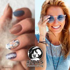 """Azra's Fashion Day: sunshine feeling  Nailart """"natural""""  #nails #art #naildesign #natural #summer"""