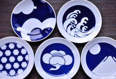 【楽天市場】豆皿 古典柄5枚組a:ジオクラフト