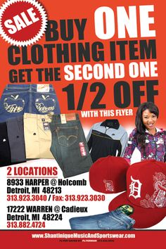 In store now!! At Shantinique Music and Sportswear 8933 Harper Avenue And 17222 East Warren Avenue In Detroit   Phone 313-923-3040 or 313-882-4724 online @ www.shantiniquemusicandsportswear.com