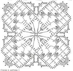 Квадратные мотивы крючком - САМОБРАНОЧКА рукодельницам, мастерицам