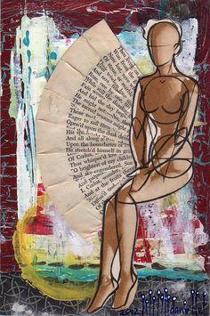 Danielle Maret - Mail Art Postcard 172