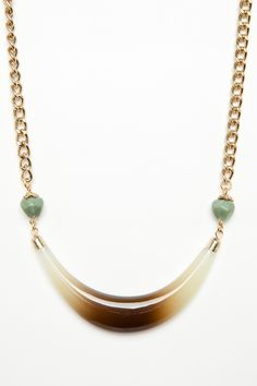 ShopSosie Style : Faded Horn Necklace