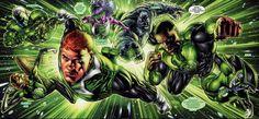 GREEN LANTERN Reboot Rumored to Feature All Three Human Lanterns