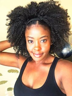 Flirty Kinky Wash and Go Half Unit Coco Cherice - November 09 2019 at Kinky Curly Hair, Black Curly Hair, Curly Hair Styles, African Hairstyles, Braided Hairstyles, Black Hairstyles, Hairstyles Pictures, Updos Hairstyle, Teenage Hairstyles