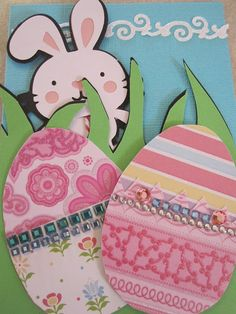 Easter Bunny Card-create a critter