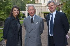 What a coup! Adrian Chiles and Christine Bleakley interviewed Prince Charles at his London home Clarence House last night, where he revealed his true feelings about climate change sceptics